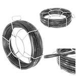 Spirala przepychacz sprężyna do rur hydrauliczna 5 x 2.3 m śr. 16 mm ZESTAW w sklepie internetowym Hurtownia Przemysłowa