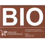 Naklejka nalepka BIO na kosz śmietnik kubeł kontener na bioodpady odpady spożywcze w sklepie internetowym Hurtownia Przemysłowa