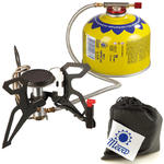 Kuchenka turystyczna z podgrzewaczem gazu i piezozapalnikiem SPIDER PRO 3kW w sklepie internetowym Hurtownia Przemysłowa