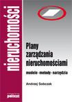 Plany zarządzania nieruchomościami - nowe wydanie w sklepie internetowym Maklerska.pl