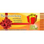 Bon podarunkowy o wartości 50 zł w sklepie internetowym GoldenSet.pl