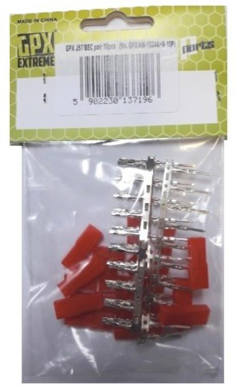 eebd44425434e6 Para konektorów JST/BEC - zestaw 10 kompletów w sklepie internetowym  Gimmik.pl. Powiększ zdjęcie