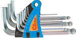 Corona zestaw kluczy imbusowych HEX krótkie 1.5-10mm C6611 w sklepie internetowym Toptools