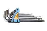 """Corona zestaw kluczy imbusowych HEX długie CALOWE 1/16""""-3/8"""" C6612 w sklepie internetowym Toptools"""