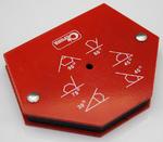 Corona kątownik spawalniczy magnetyczny 6 kątów udźwig 25kg C0476 w sklepie internetowym Toptools