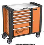 Corona wózek warsztatowy 253 el 7 szuflad + szafka - C1281 - szafka narzędziowa w sklepie internetowym Toptools
