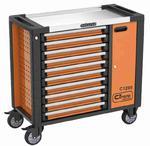 Corona wózek warsztatowy 10 szuflad + szafka - C1285 - szafka narzędziowa w sklepie internetowym Toptools