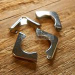 NZ-01 Narożniki okucia ozdobne srebrne 4szt w sklepie internetowym Craft Style