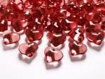 Kryształowe serca, czerwony, 21mm, 1op. w sklepie internetowym naSlub.pl