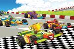 Fototapeta dla dzieci autka, wyścig 24a w sklepie internetowym Deco-Wall.pl