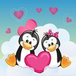 Fototapeta dla dzieci pingwinki 221a w sklepie internetowym Deco-Wall.pl