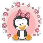 Fototapeta dla dzieci pingwinek 267a w sklepie internetowym Deco-Wall.pl