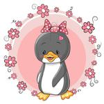 Fototapeta dla dzieci pingwinka 268a w sklepie internetowym Deco-Wall.pl