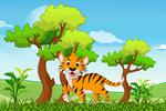 Fototapeta dla dzieci tygrys 535 w sklepie internetowym Deco-Wall.pl