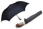 Automatyczna czarna parasolka rodzinna marki Parasol, XXL, 120 cm w sklepie internetowym Portfele.net