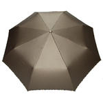 Automatyczna metaliczna parasolka damska marki Parasol, brÄ zowa w sklepie internetowym Portfele.net