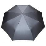 Automatyczna metaliczna parasolka damska marki Parasol, szara w sklepie internetowym Portfele.net