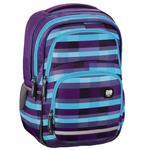 """Ergonomiczny plecak szkolny HAMA, All Out """"Blaby"""", Summer Check Purple w sklepie internetowym Portfele.net"""