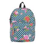 Lekki plecak szkolny Paso w kwiaty, 17-780D w sklepie internetowym Portfele.net