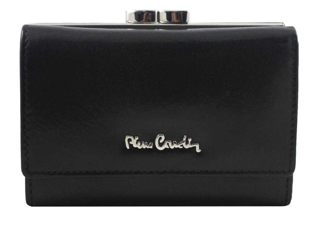 68825436389ca Czarna portmonetka damska Pierre Cardin w kolorze czarnym w sklepie  internetowym Portfele.net. Powiększ zdjęcie