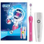 Braun Oral-B szczoteczka elektryczna PRO2500 Pink D20.513.2MX z etui turystycznym w sklepie internetowym sklep.dib.com.pl
