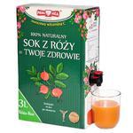 RÓŻA BOX Witamina C 100% owocowa 3l POLSKA RÓŻA w sklepie internetowym Naturanet.pl