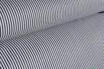 Pościel bawełniana 160x200 Marynarska w cienkie pasy granatowo-białe wzór nr.40 w sklepie internetowym Karo.waw.pl