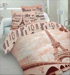 Pościel bawełniana 160x200 Paris 3D 8669 Młodzieżowa Faro w sklepie internetowym Karo.waw.pl