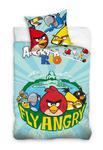 Pościel bawełniana 160x200 Angry Birds 5701 AB7002 w sklepie internetowym Karo.waw.pl