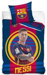 Pościel bawełniana 160x200 FC Barcelona Messi FCB 9007 1710 Carbotex w sklepie internetowym Karo.waw.pl