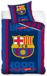 Pościel bawełniana 160x200 FC Barcelona 2335 FCB8025 Logo i data w sklepie internetowym Karo.waw.pl