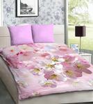 Pościel z mikrosatyny 3D 160x200 14 Różowe Kwiaty 1023 Bed&You w sklepie internetowym Karo.waw.pl