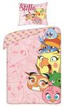 Pościel bawełniana 160x200 H Angry Birds ABS8002 2455 w sklepie internetowym Karo.waw.pl