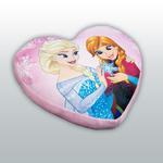 Poduszka kształtka 32x36x5 Frozen Serce Anna i Elsa 3949 Kraina Lodu w sklepie internetowym Karo.waw.pl