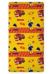 Prześcieradło bawełniane z gumką 90x200 Strażak Sam Straż Pożarna Fireman 6381 w sklepie internetowym Karo.waw.pl