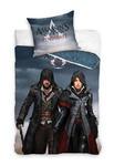 Pościel bawełniana 160x200 Assassins Creed Syndicate gra ASG 161010 C 9273 w sklepie internetowym Karo.waw.pl
