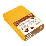 Prześcieradło frotte z gumką 120x200 żółte słoneczne 005 grube 200g/m2 KARO w sklepie internetowym Karo.waw.pl