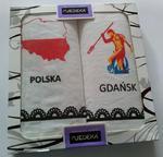 Ścierka do naczyń Regiony Kpl 2szt Jedeka miasta Polska Gdańsk w sklepie internetowym Karo.waw.pl