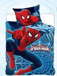 Pościel bawełniana 140x200 Spiderman 1035 Człowiek Pająk poszewka 70x90 w sklepie internetowym Karo.waw.pl