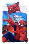 Pościel bawełniana 140x200 Spiderman 1066 Człowiek Pająk poszewka 70x90 w sklepie internetowym Karo.waw.pl