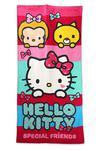 Ręcznik plażowy 70x140 Hello Kitty Kotek 2847 różowy dziecięcy w sklepie internetowym Karo.waw.pl