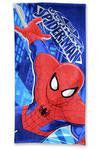 Ręcznik plażowy 70x140 Spiderman 9723 Człowiek Pająk dziecięcy w sklepie internetowym Karo.waw.pl