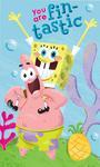 Ręcznik bawełniany 30x50 SpongeBob Kanciastoporty rozgwiazda C 5624 w sklepie internetowym Karo.waw.pl