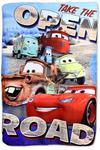 Kocyk polarowy 100x150 Cars Auta 0842 Zygzak Złomek McQueen pled dziecięcy w sklepie internetowym Karo.waw.pl