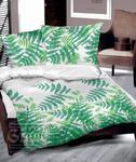 Pościel bawełniana 140x200 Greenery tropikalna Greno w sklepie internetowym Karo.waw.pl