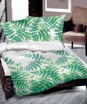 Pościel bawełniana 200x220 Greenery tropikalna Greno w sklepie internetowym Karo.waw.pl