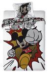 Pościel Mickey Mouse 160x200 Who's bad? 3405 w sklepie internetowym Karo.waw.pl