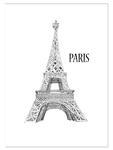 Plakat Paryż plakat na ścianę w sklepie internetowym Naklej-To