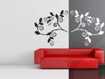 Gałązka ornament 1 naklejka na ścianę ornament w sklepie internetowym Naklej-To