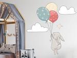 naklejka dla dzieci króliczek 1 króliczek dla dzieci w sklepie internetowym Naklej-To